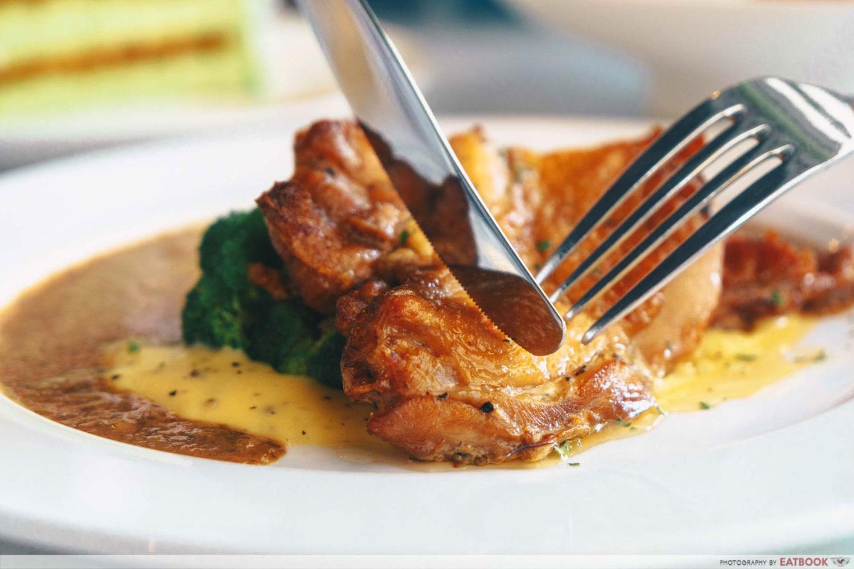 Cuppafield - Chicken chop
