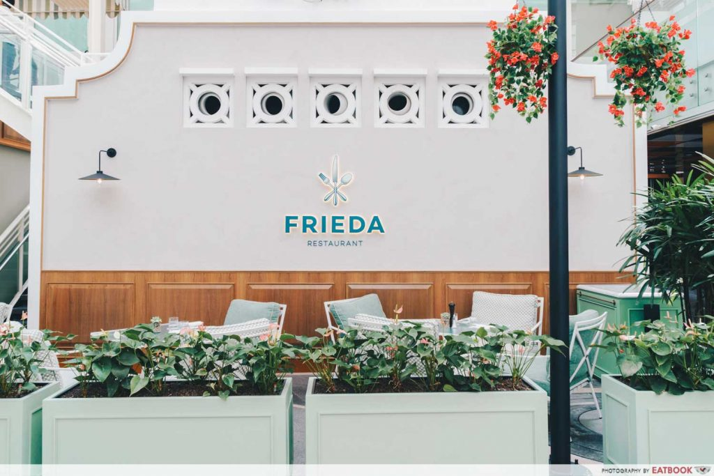 Photo of Frieda's logo