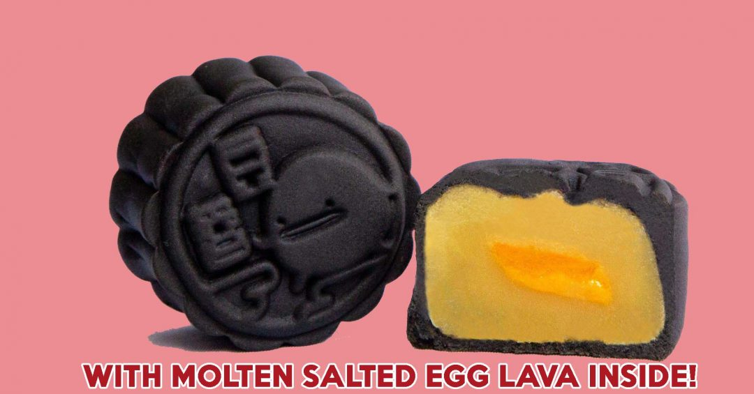 IRVINS Salted Egg Lava MooncakeS