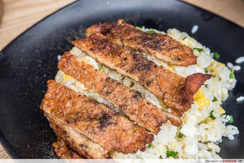 Pork Chop Rice - Hao wei lai