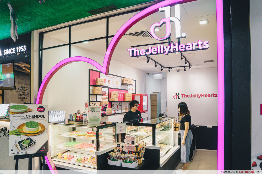 Exterior of TheJellyHearts shop