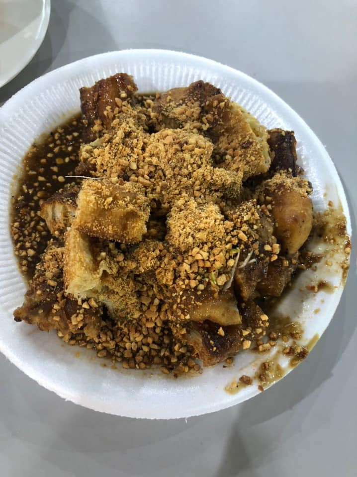 black and white rojak woodlands food