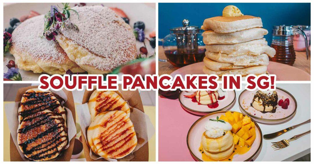 Souffle Pancakes- Feature image