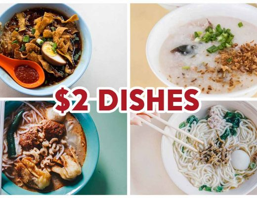 $2 dishes