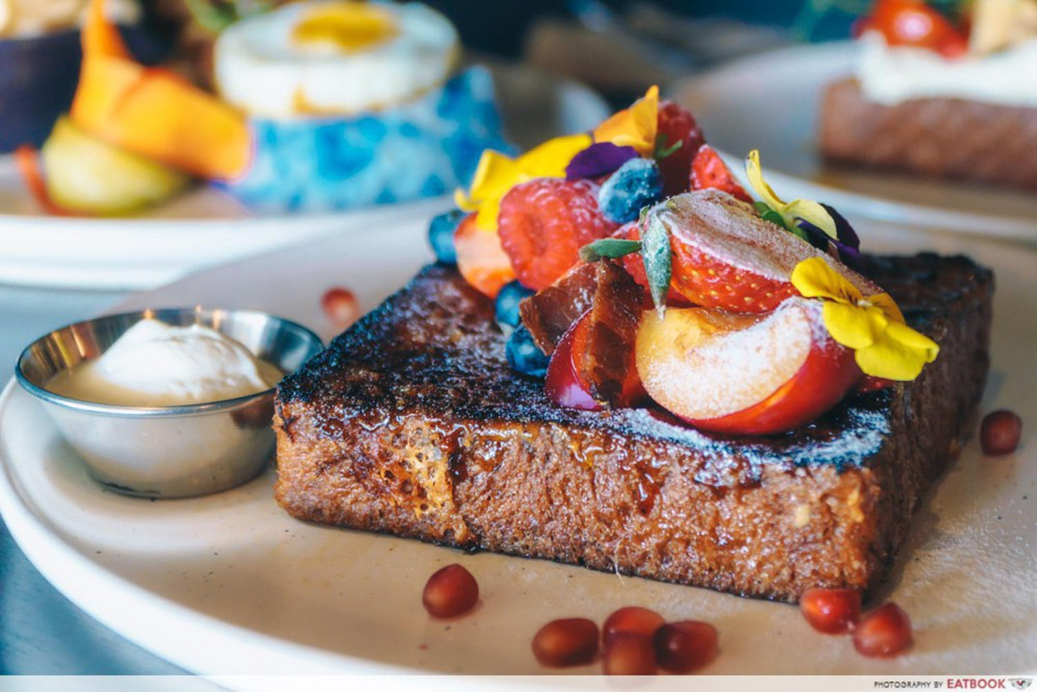 Bukit Timah Cafes - Brulee French Toast