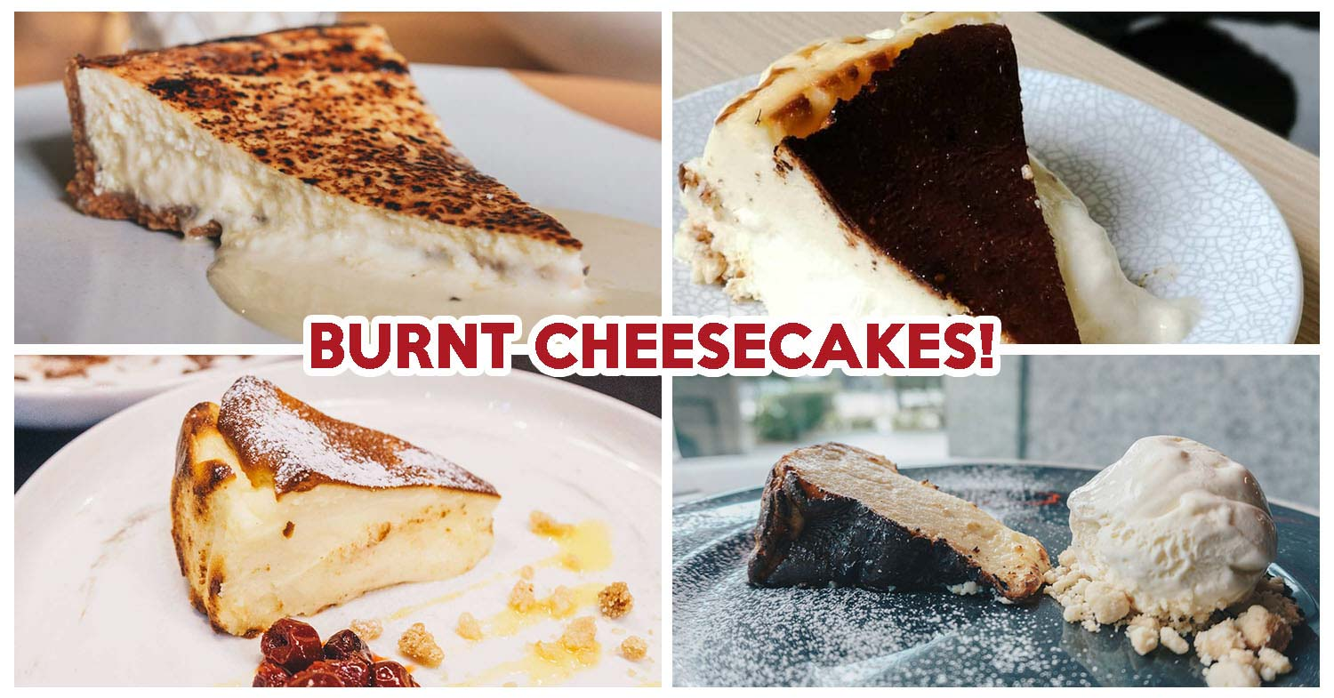 Burnt cheesecakes - Feature image