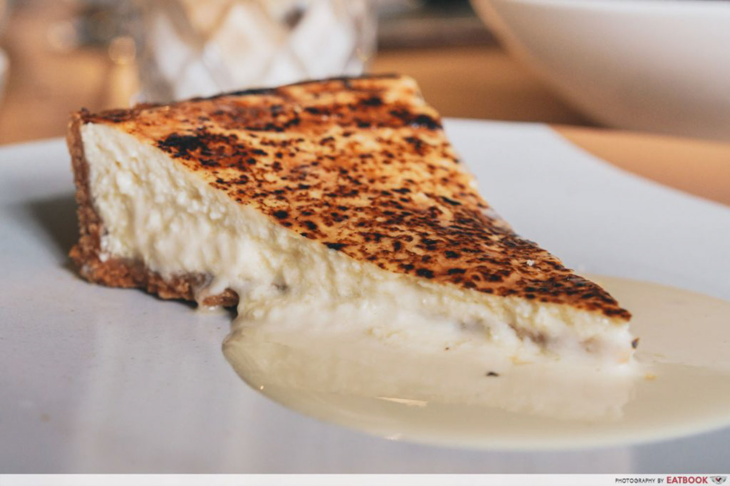 Burnt cheesecakes - Olivia Restaurant and Co
