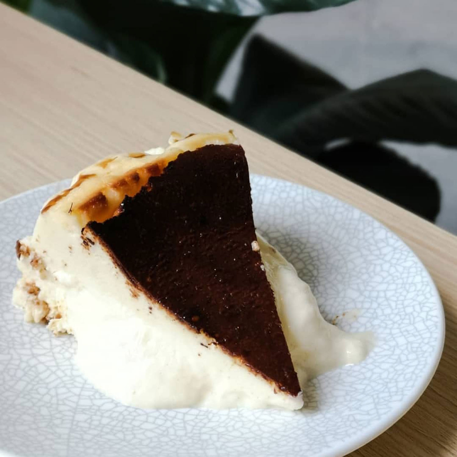 Burnt cheesecakes - The Kin's Specialty Coffee