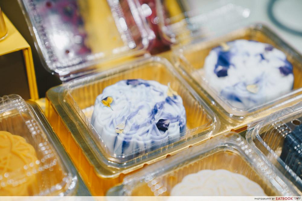 Blue Pea Flower Moocake