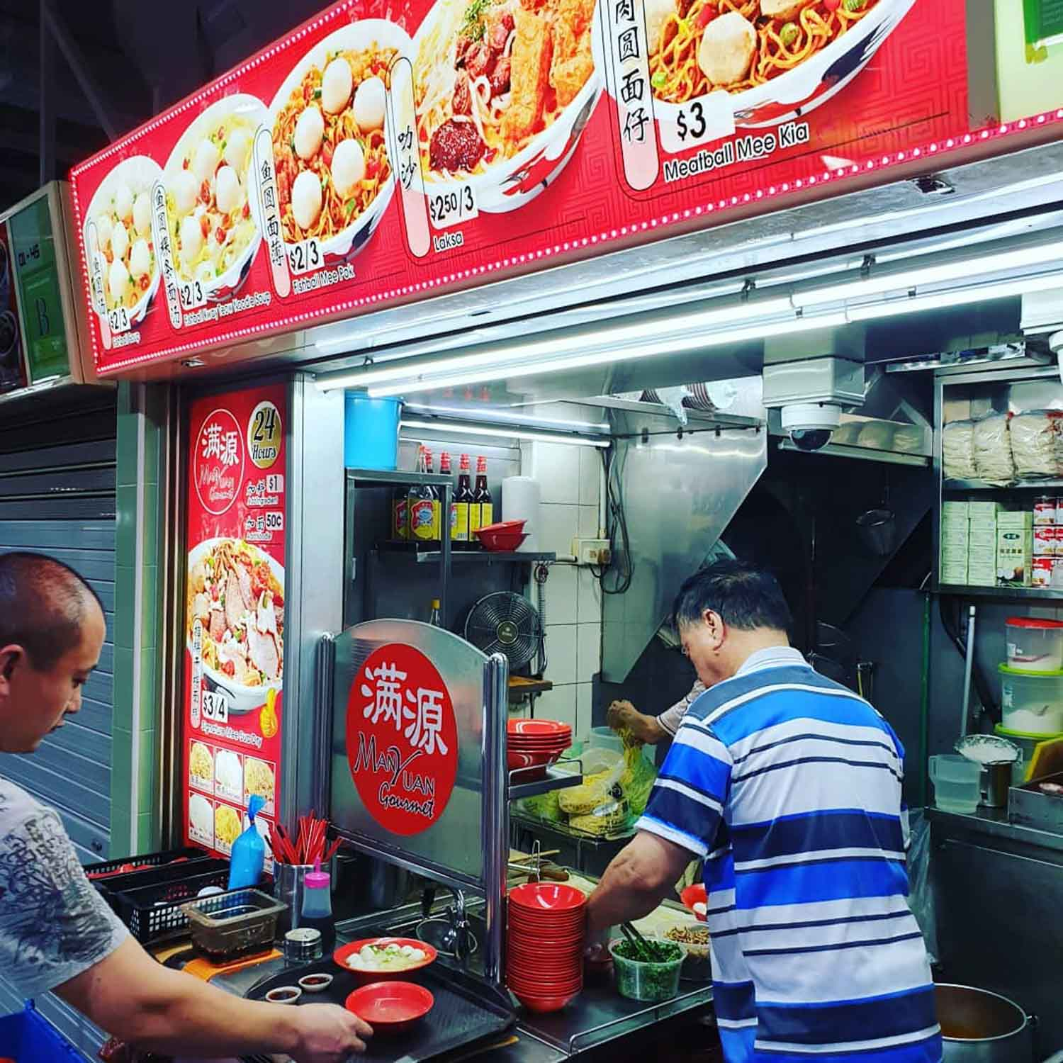 Dishes Under $2 - Fishball Noodles