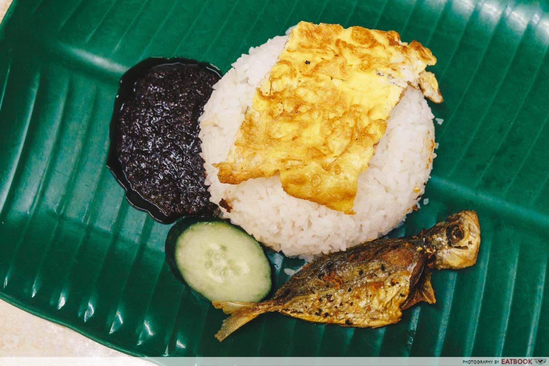 Dishes Under $2 - Nasi Lemak
