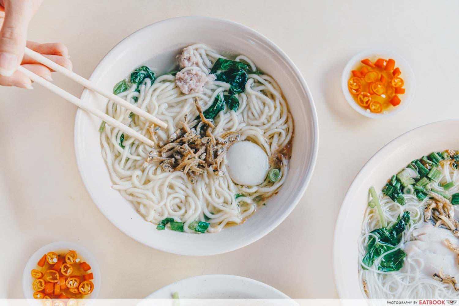 Dishes Under $2 - Soup Yu Mian