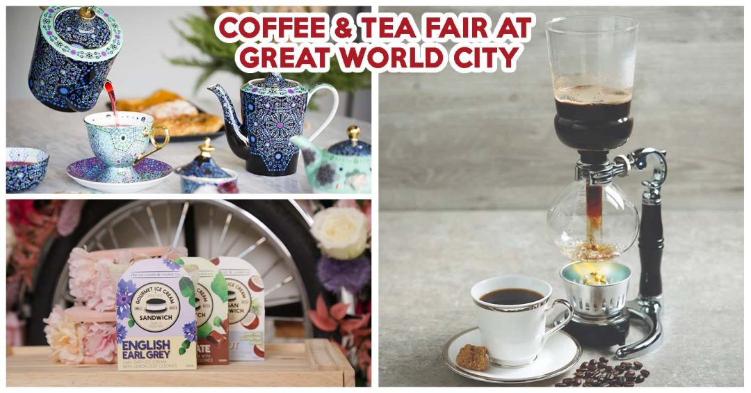 Great World City life is brewtiful event