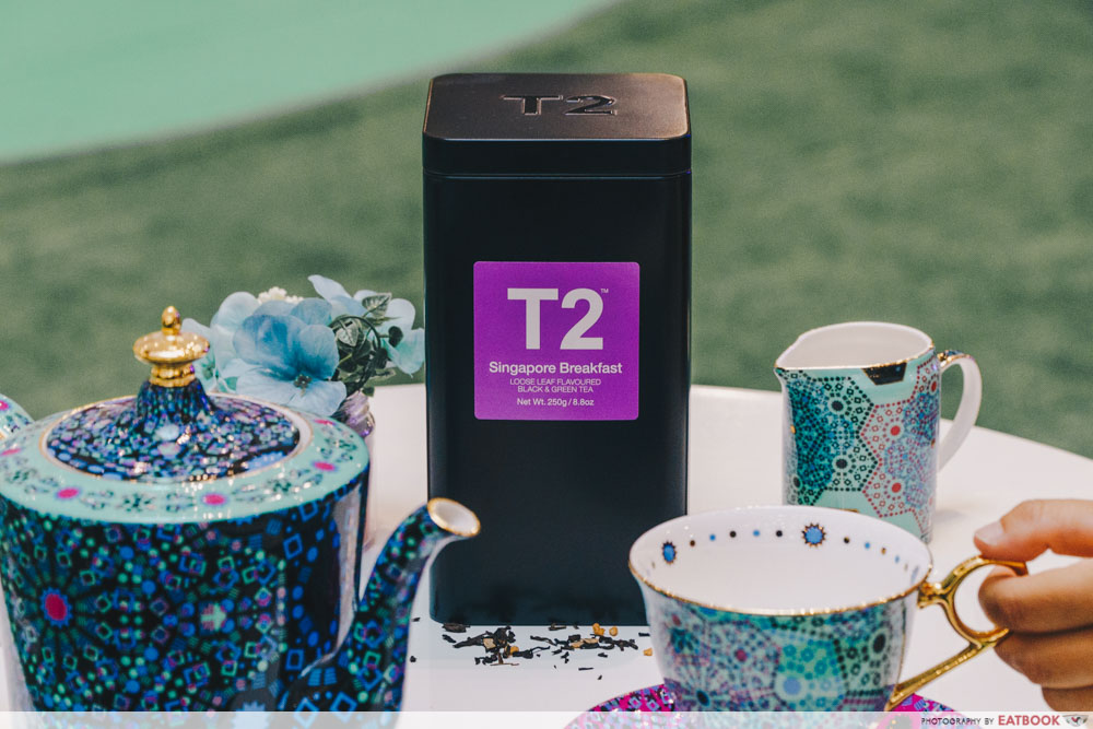 t2 kaya toast tea