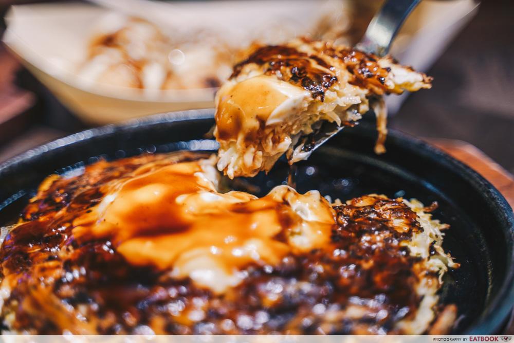 Japan Gourmet Hall SORA - Buta Tama Okonomiyaki