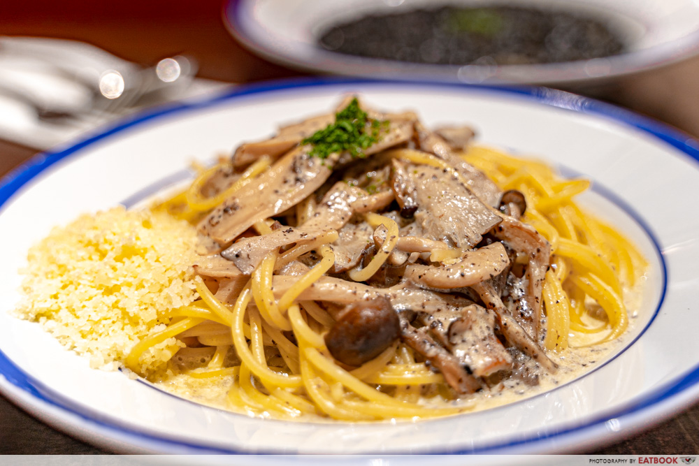 Japan Gourmet Hall SORA - Japoli Kitchen Truffle & Mushroom Pasta