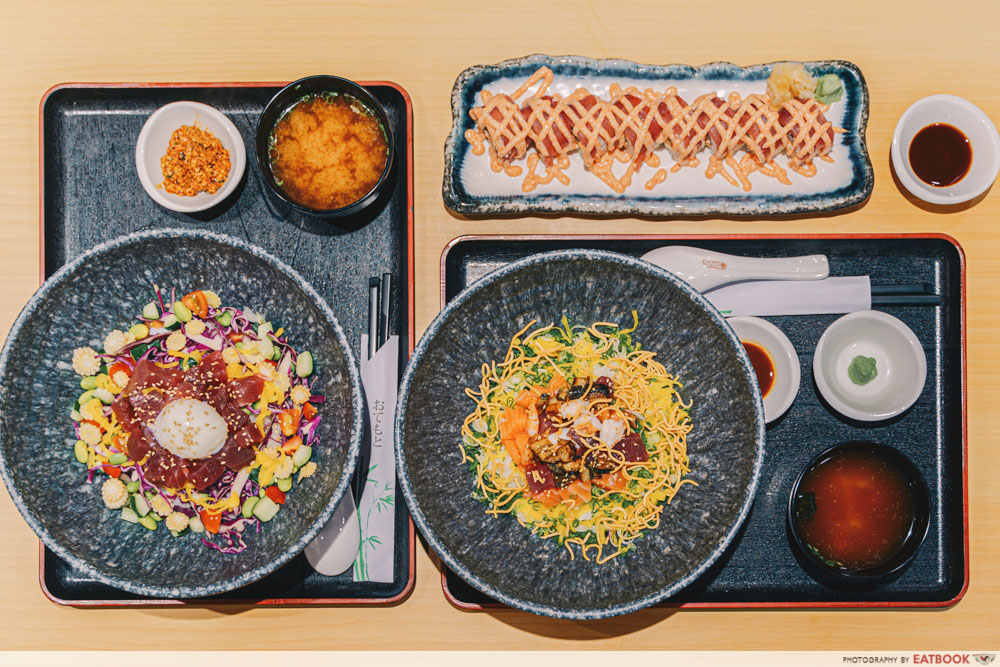 Japan Gourmet Hall SORA - Megumi Maru Flatlay