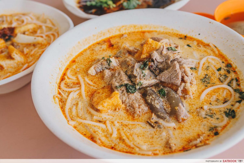 Kebun Baru Food Centre - Hong Heng Beef Noodle and Laksa