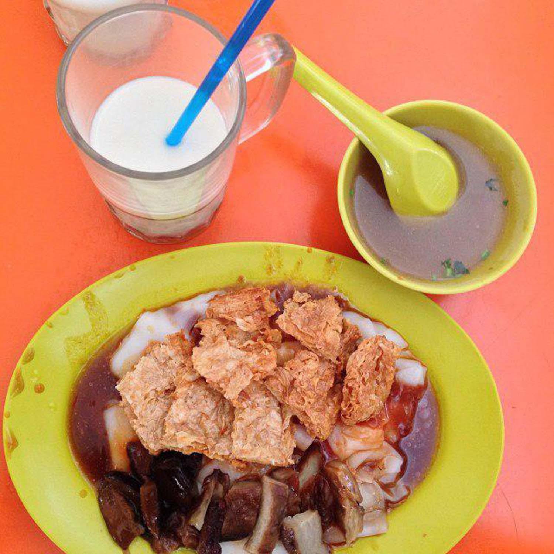 Kebun Baru Food Centre - Ru Lai Vegetarian Food