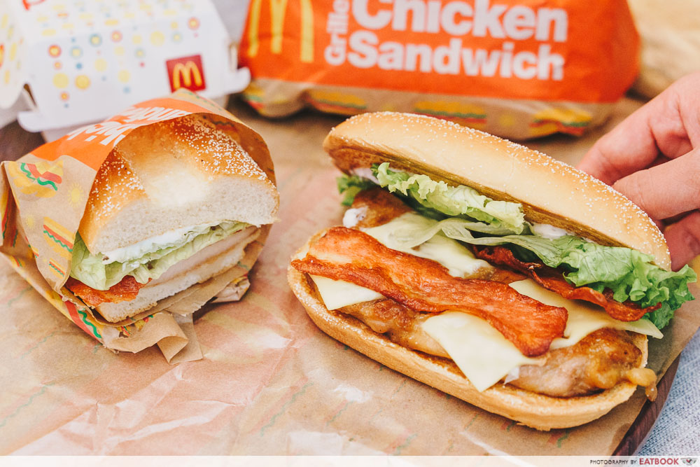 McDonald's Grilled Chicken