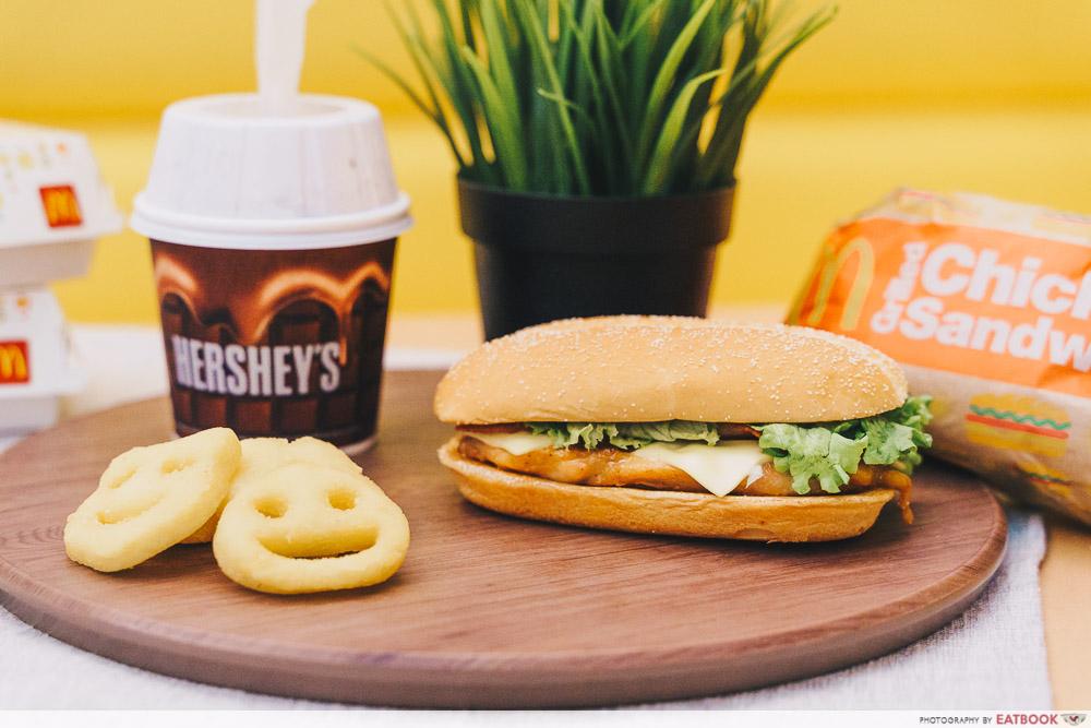 McDonald's Grilled Chicken Potato