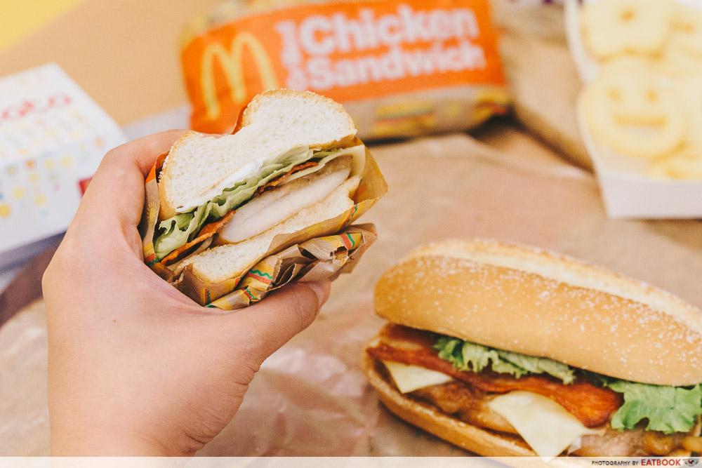 McDonald's Grilled Chicken Sandwich