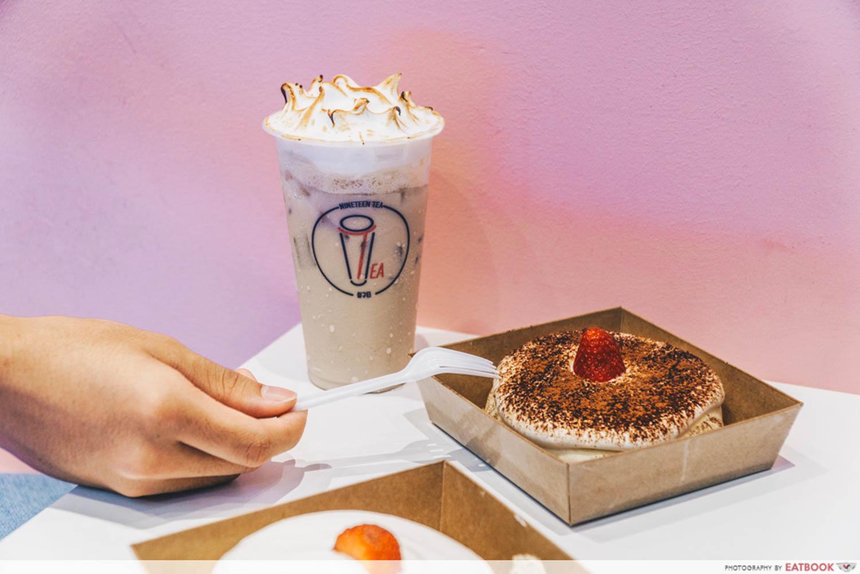 New Restaurants Oct - Meringue Milk Tea