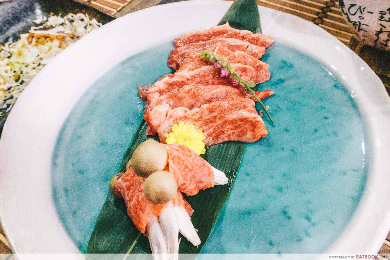 New Restaurants Oct - Wagyu beef