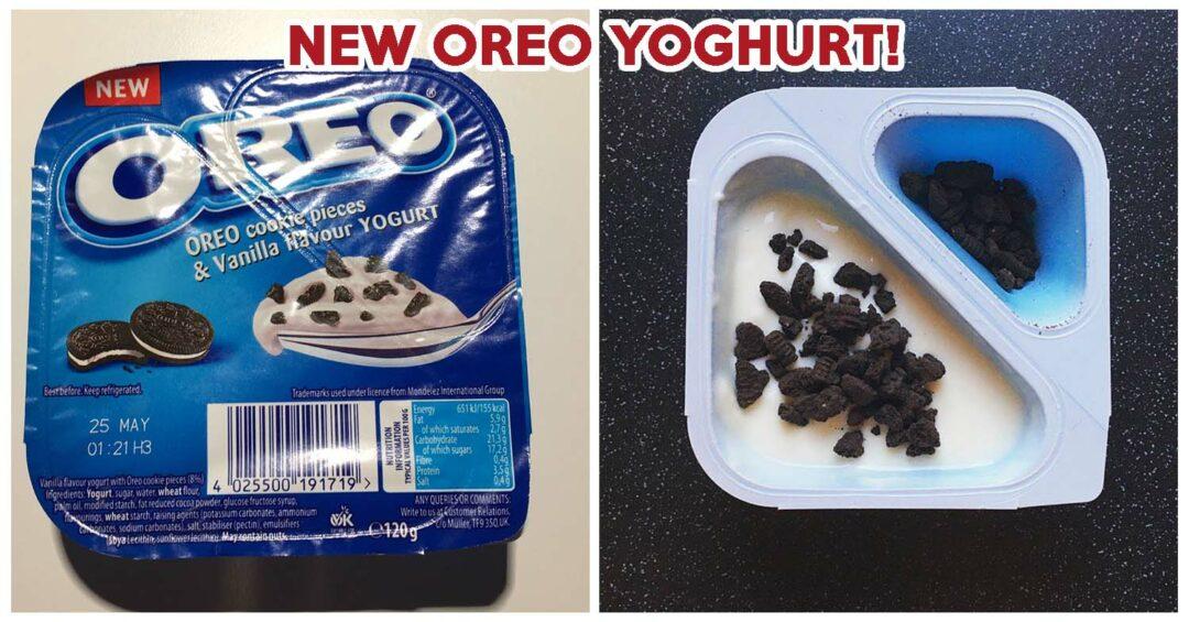 Oreo yoghurt