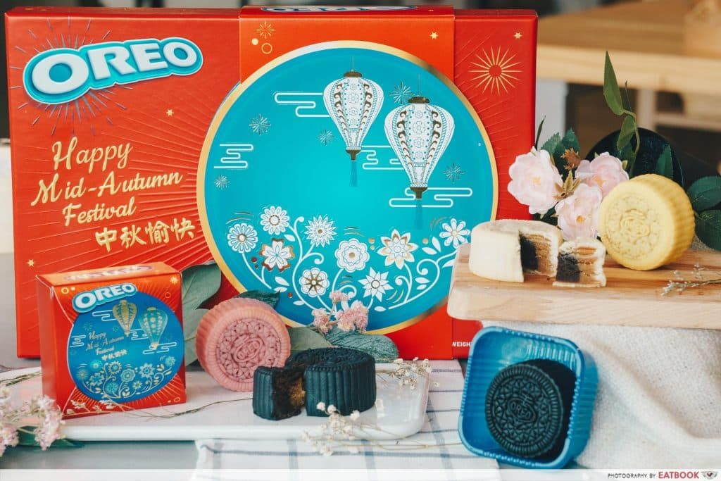 Oreo yoghurt - mooncake