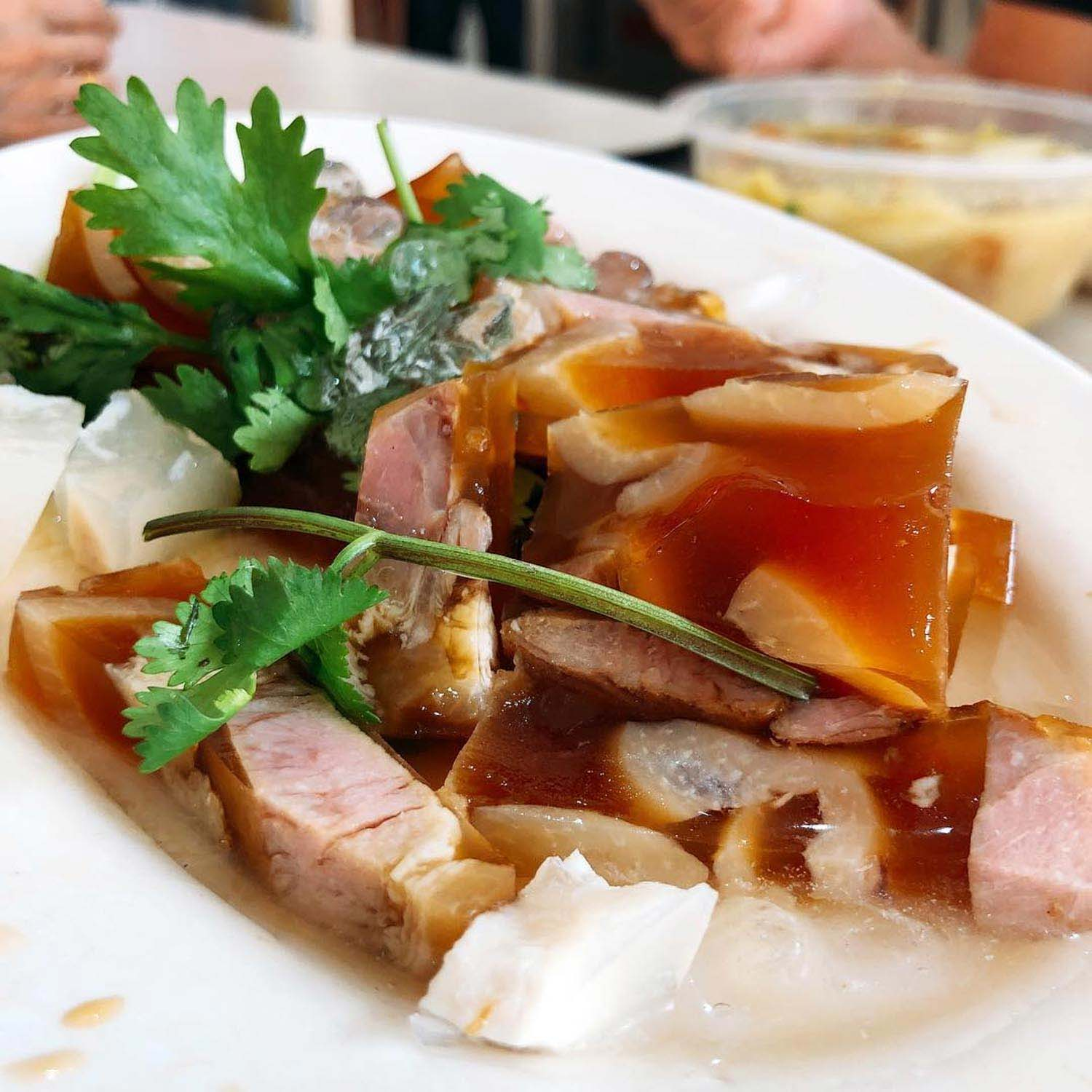 Teochew dishes - Jellied pig trotters