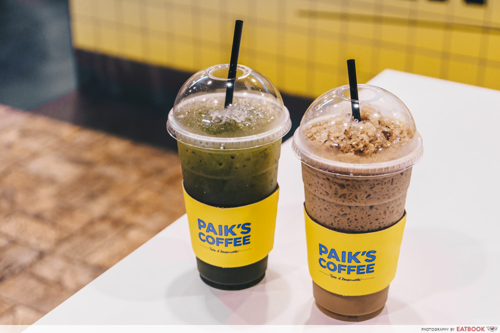 Paik's special coffee
