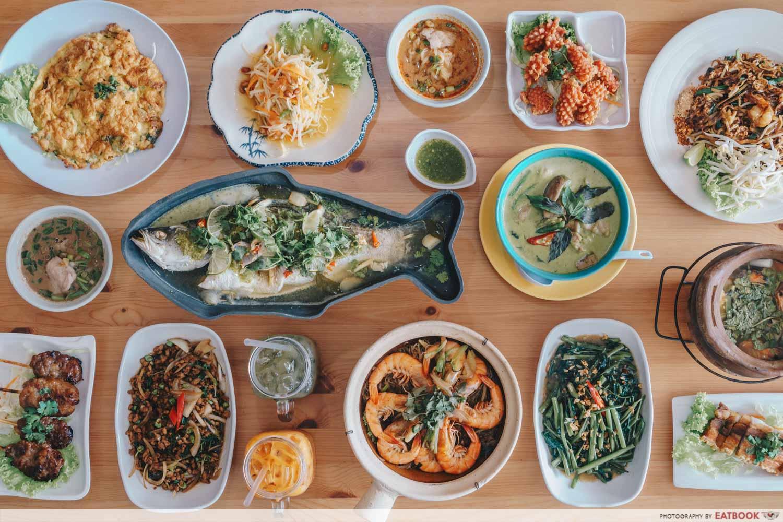 Tuk Wan Kitchen - Flatlay