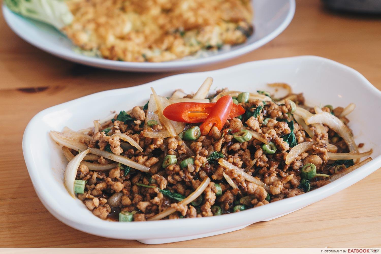 Tuk Wan Kitchen - Thai Basil Pork