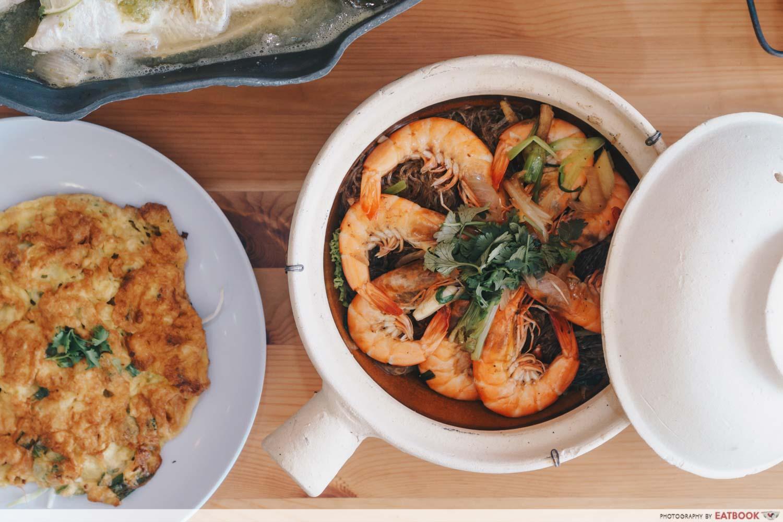 Tuk Wan Kitchen - Thai Style Prawn With Glass Noodles