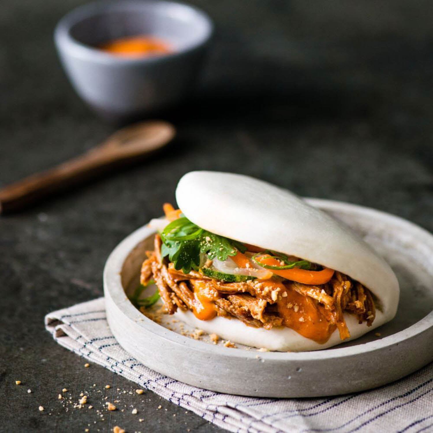 Unique Bao - Pulled pork bao