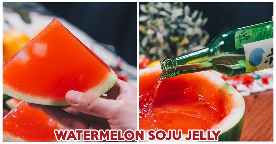 WATERMELON SOJU JELLY COVER