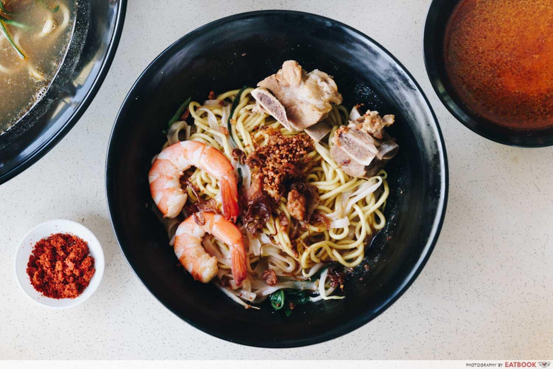 Zhen Jie Seafood - Dry pork rib noodles