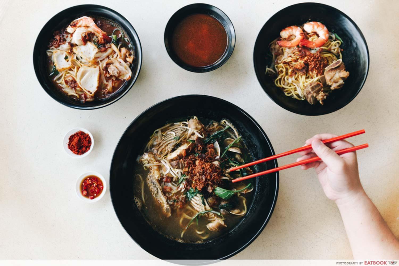 Zhen Jie Seafood - Flatlay