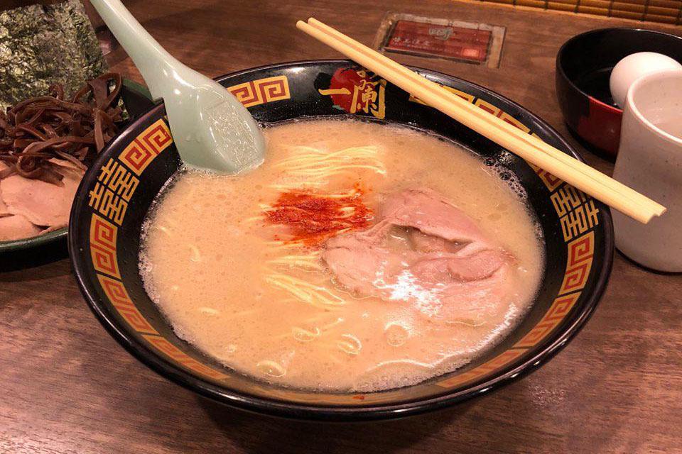 ichiran ramen spicy sauce