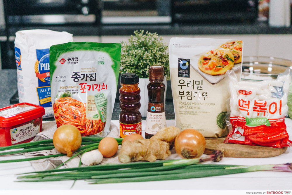 korean street food recipes ingredients