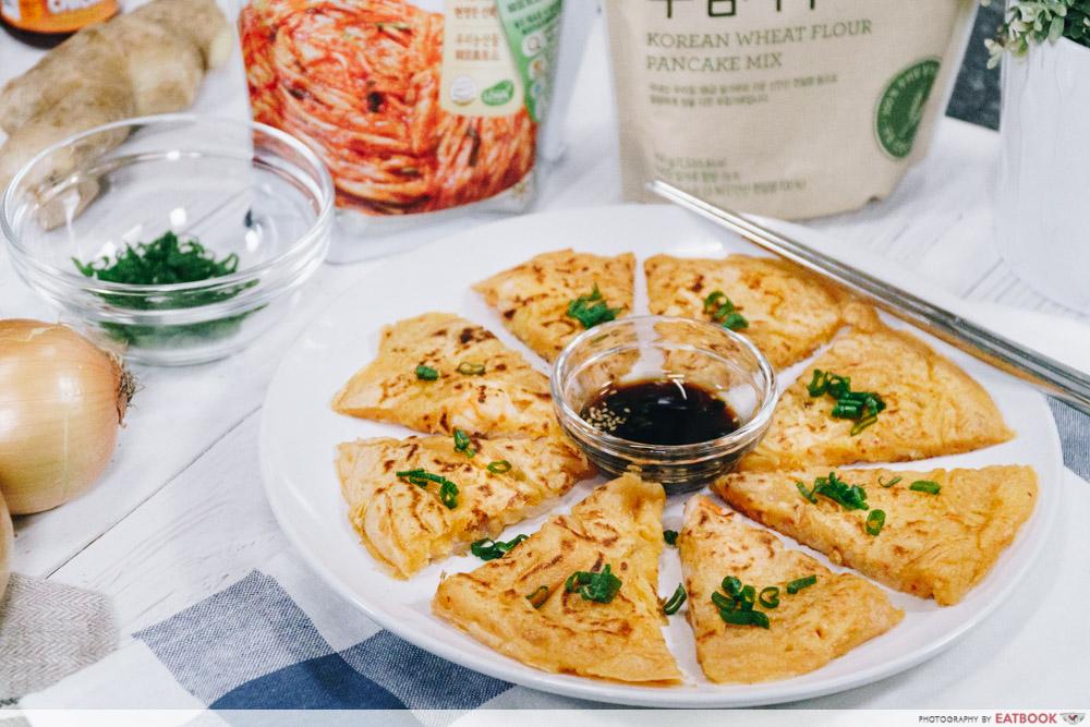 korean street food recipes kimchi pancake
