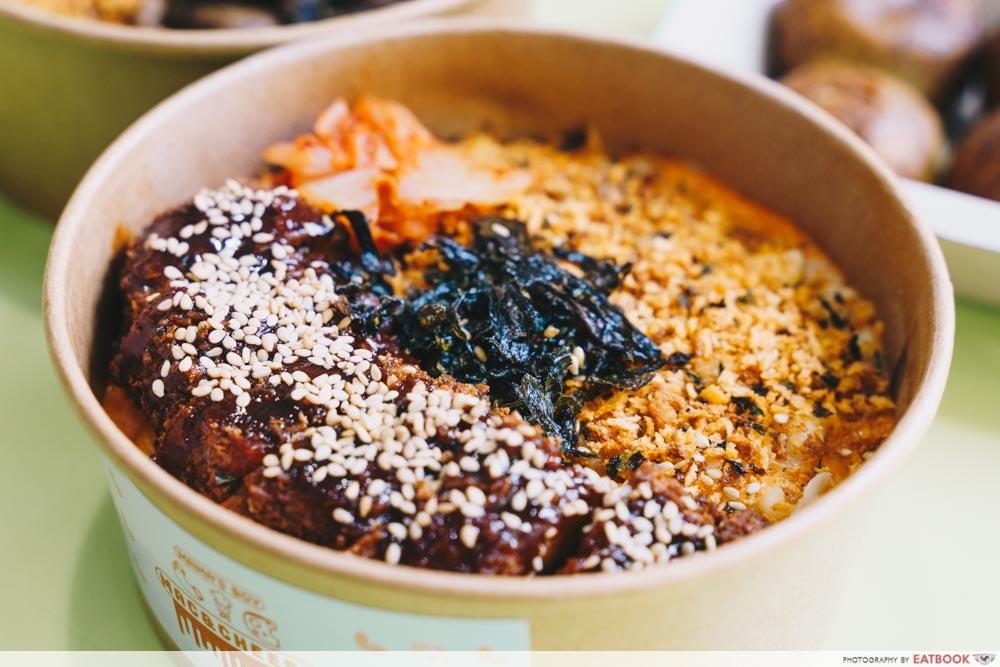 Korean Mac & Cheese