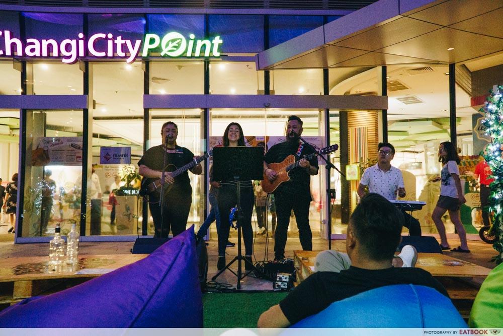 Changi City Point Glamping Band