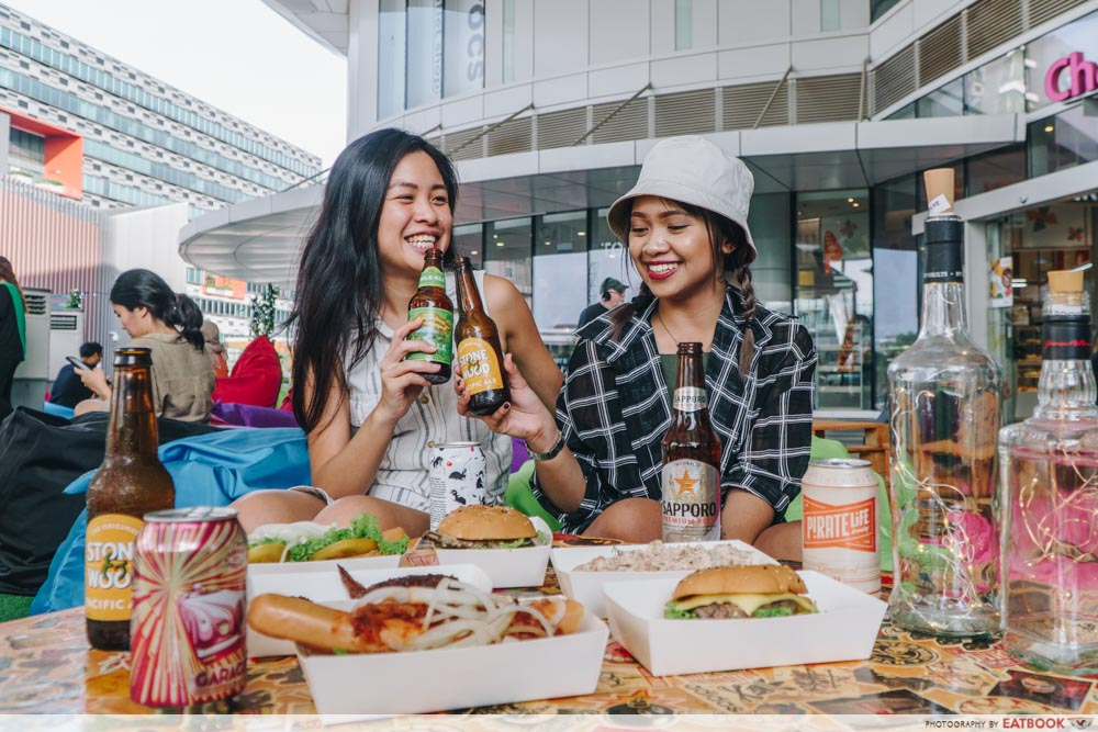say cheers to beer at changi city point