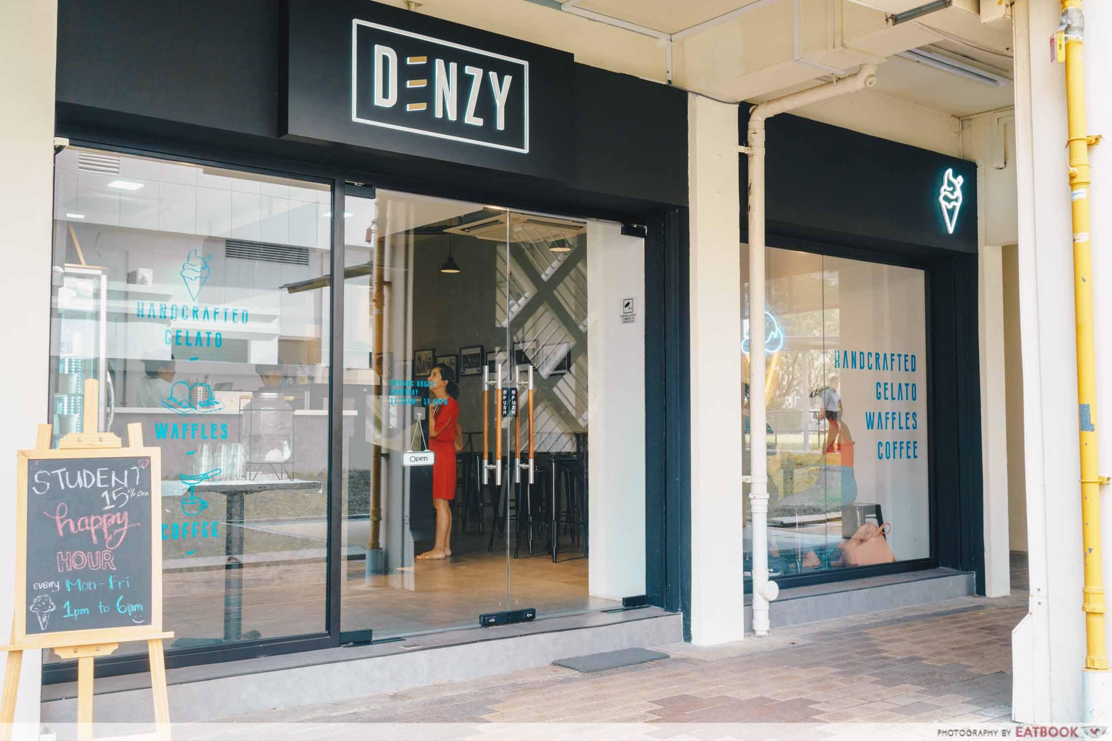 Denzy Gelato - Storefront