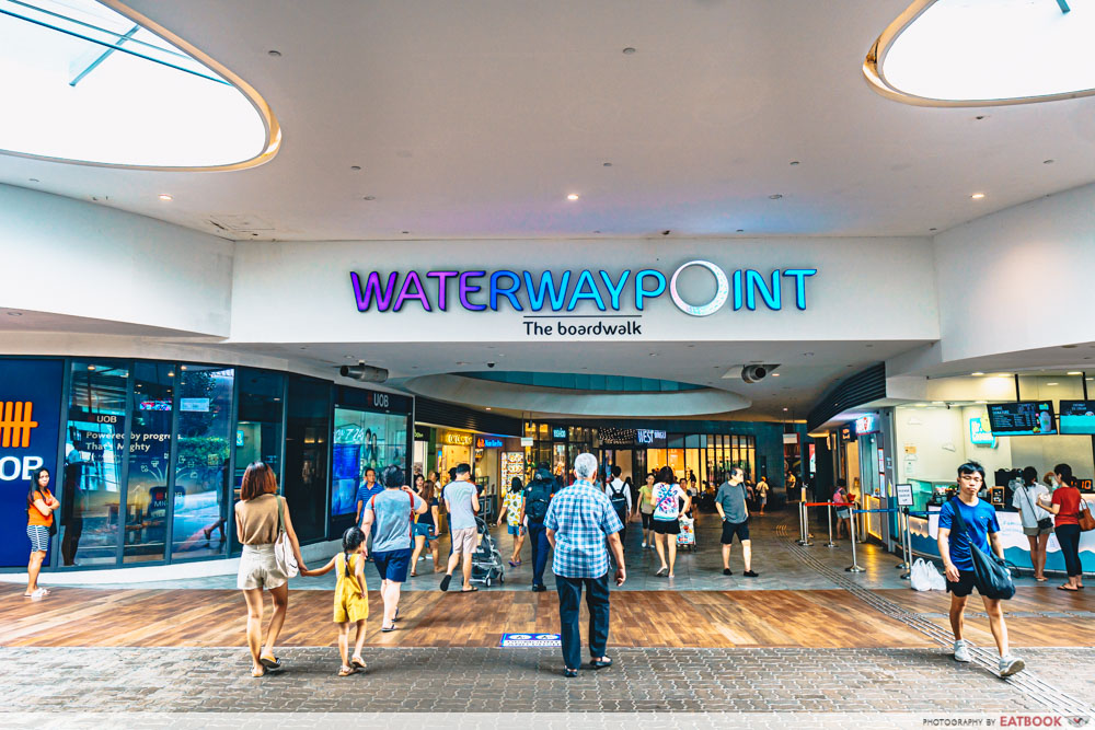 Family-Friendly Restaurants Punggol waterway point mall