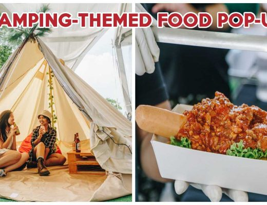 Glamping at changi city point