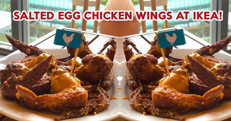 IKEA Salted Egg Chicken Wing - Feature Image