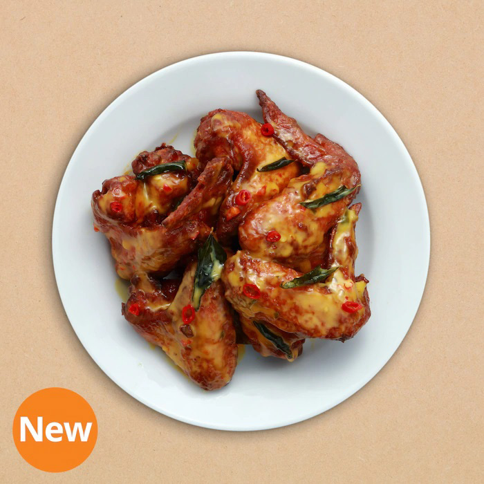 IKEA Salted Egg Chicken Wing - IKEA